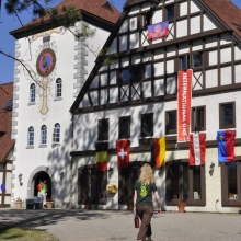 ​Authentic architecture at Waldsee, the German Language Village.