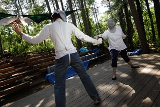 <p>Learn why the Germans are so good at fencing (<i>Fechten</i>).</p>