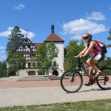 ...or a summer bike ride—auf deutsch!