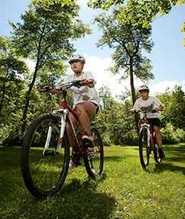 There are many activities to choose from at the Villages, whether it be arts and crafts or biking through the woods, we have something for you!