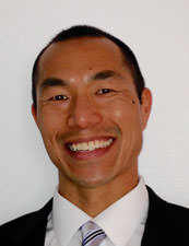 A headshot of author Mark Chen